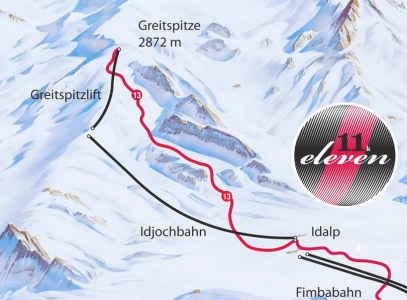 De langste afdalingen van Oostenrijk