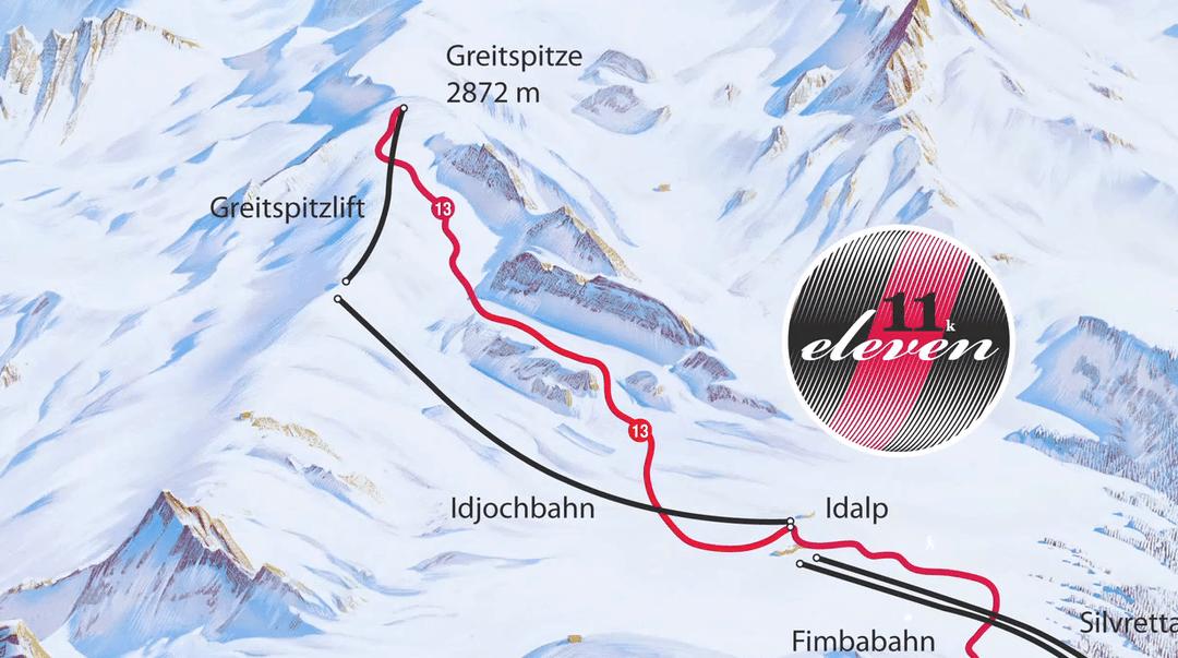 De langste afdaling van Oostenrijk