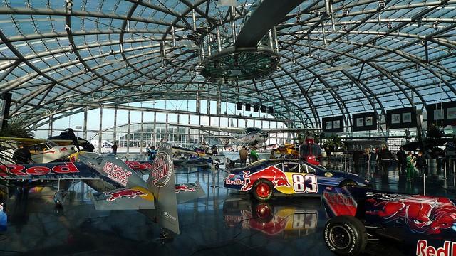 Hangar 7 bezienswaardigheden in Salzburg