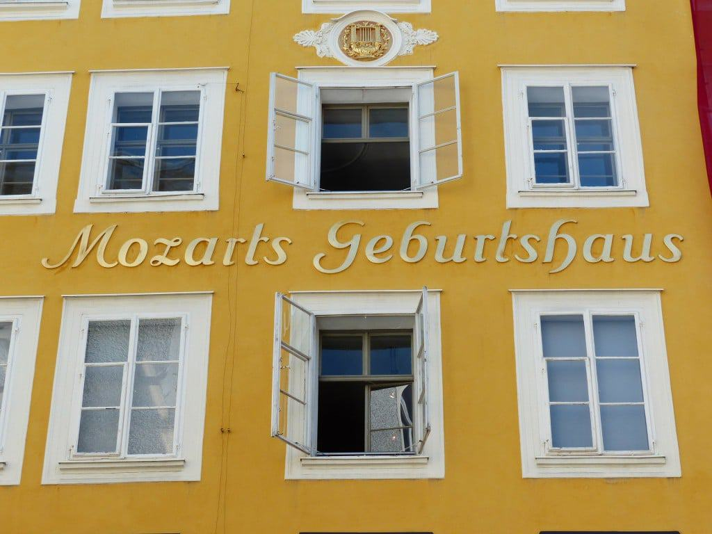 Geboortehuis Mozart