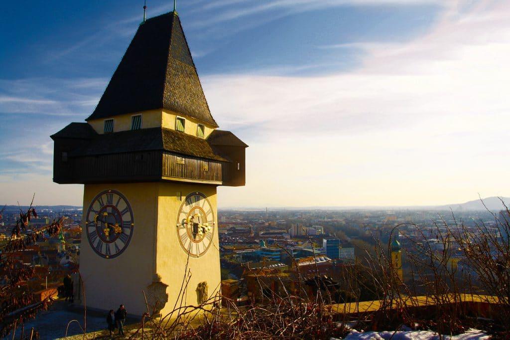 Graz de tweede stad van Oostenrijk