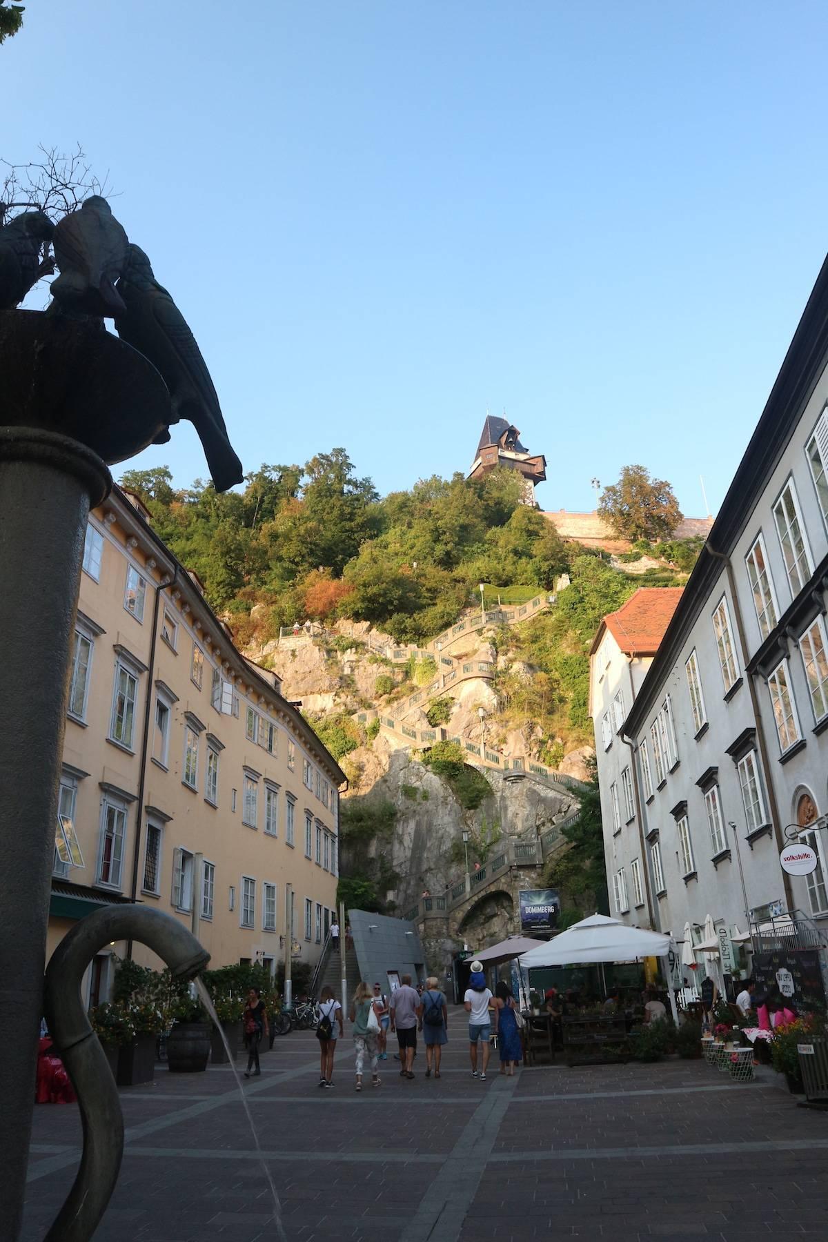 Stedentrip naar Graz