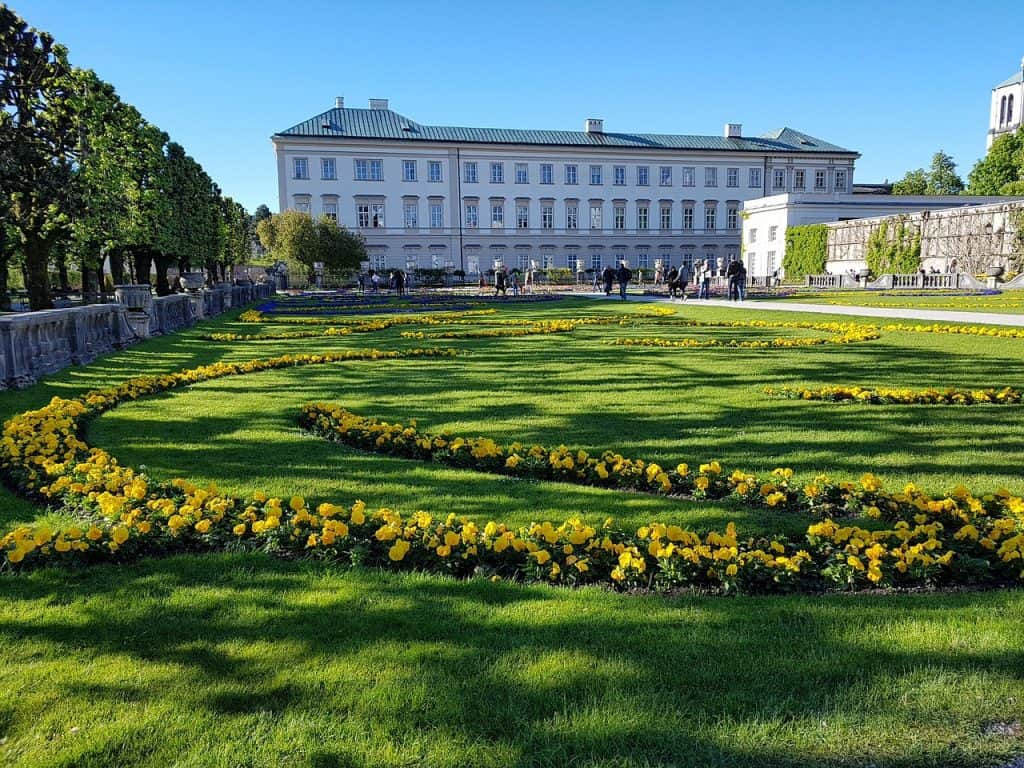 Mirabell bezienswaardigheden in Salzburg