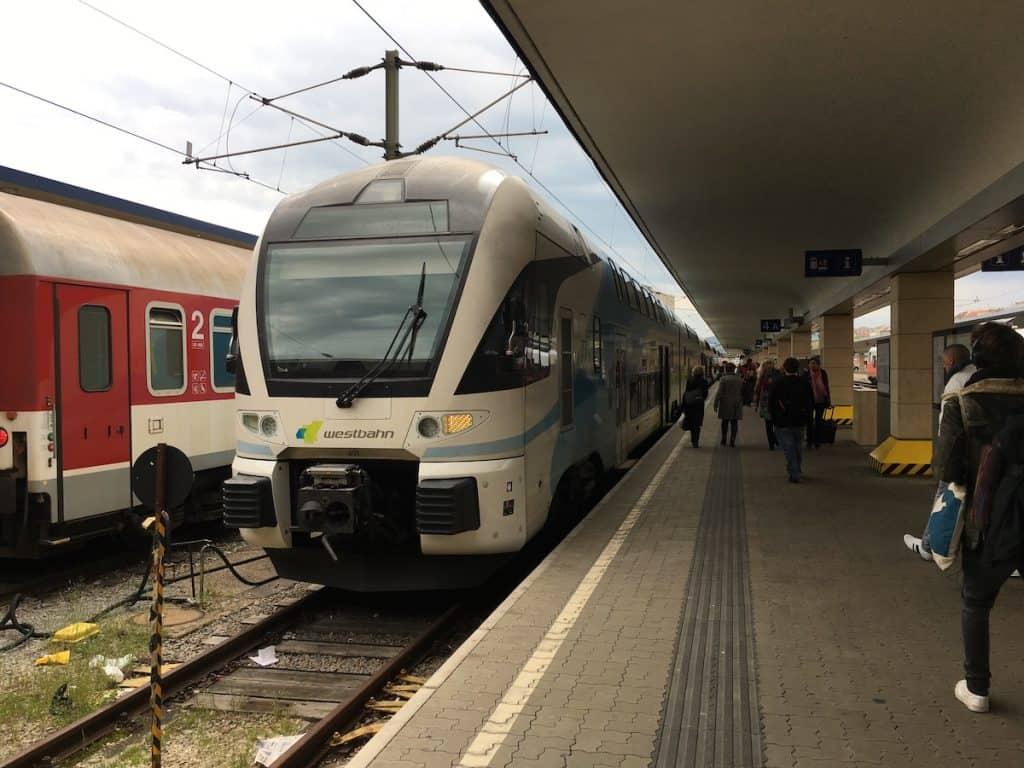 Met de trein in Oostenrijk