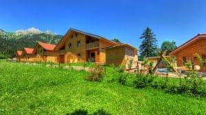 Vakantiepark in Tirol Hahnenkamm