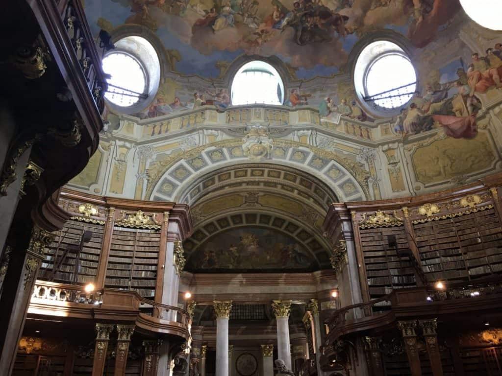 Österreichische Nationalbibliothek Wenen
