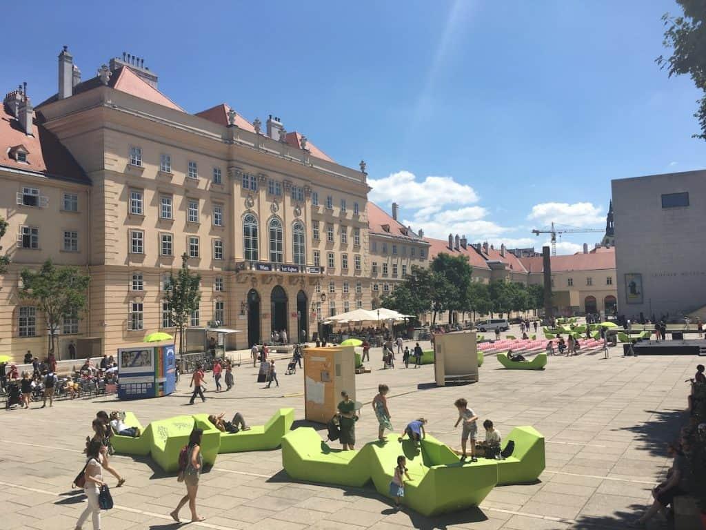 Museum Quartier Wenen
