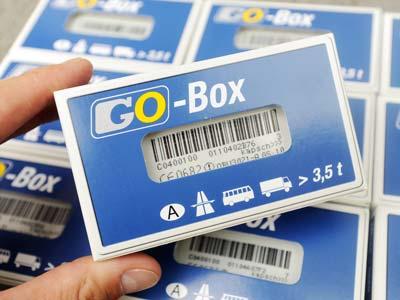 De Go-Box voor voertuigen zwaarder dan 3.500 kilo