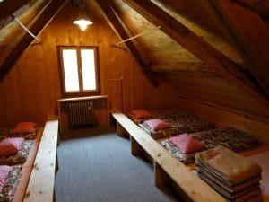 Berghut slaapplaats Oostenrijk
