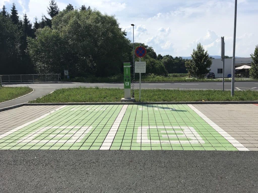 Met een elektrisch auto naar Oostenrijk