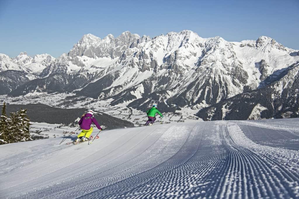 Wintersport planai steiermark oostenrijk