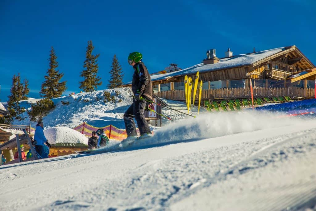 Salzburger Sportwelt wintersportgebied
