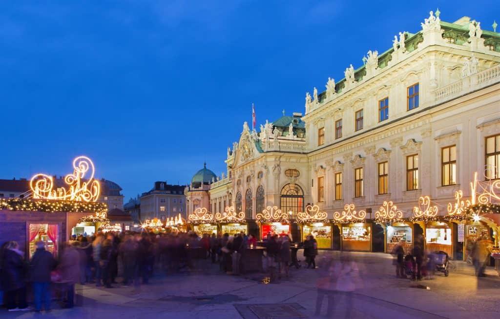 Top 10 kerstmarkten in Wenen