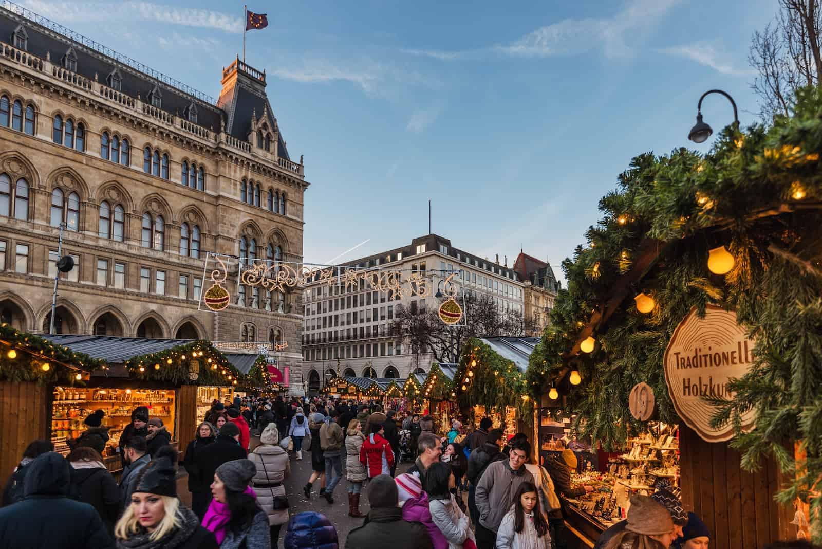 Kerstmarkt in Wenen - stedentrip met TUI