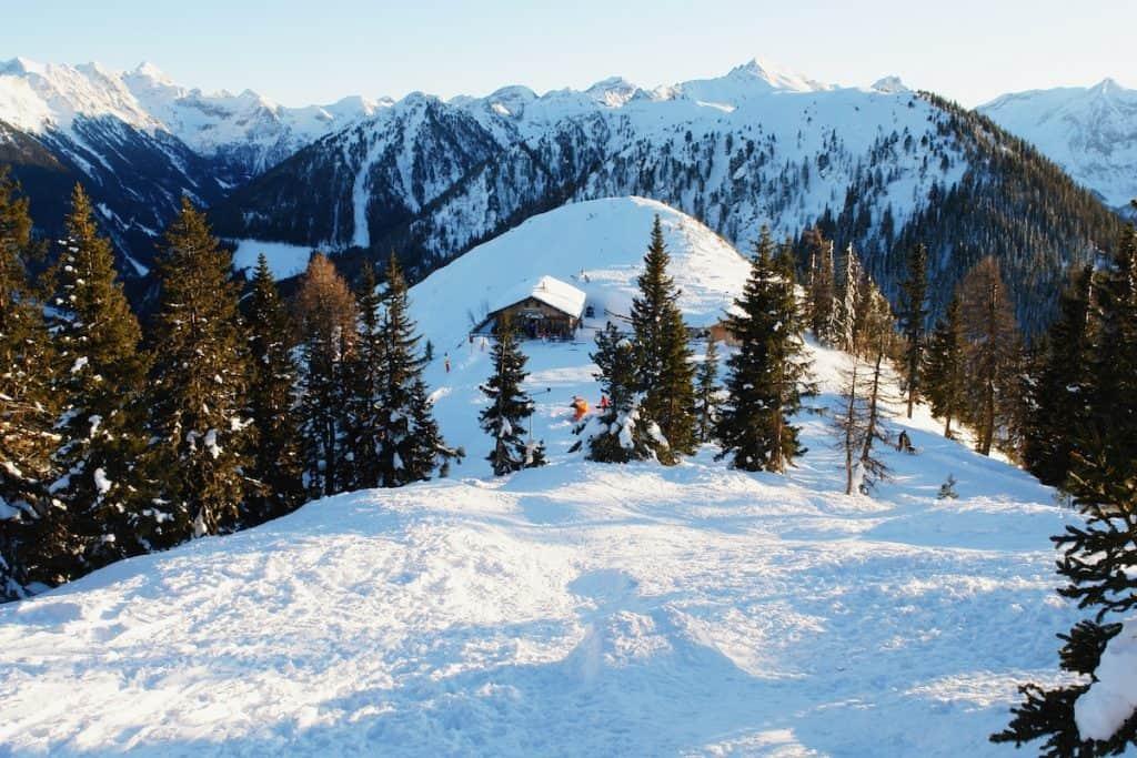 Wintersporten in het Salzkammergut