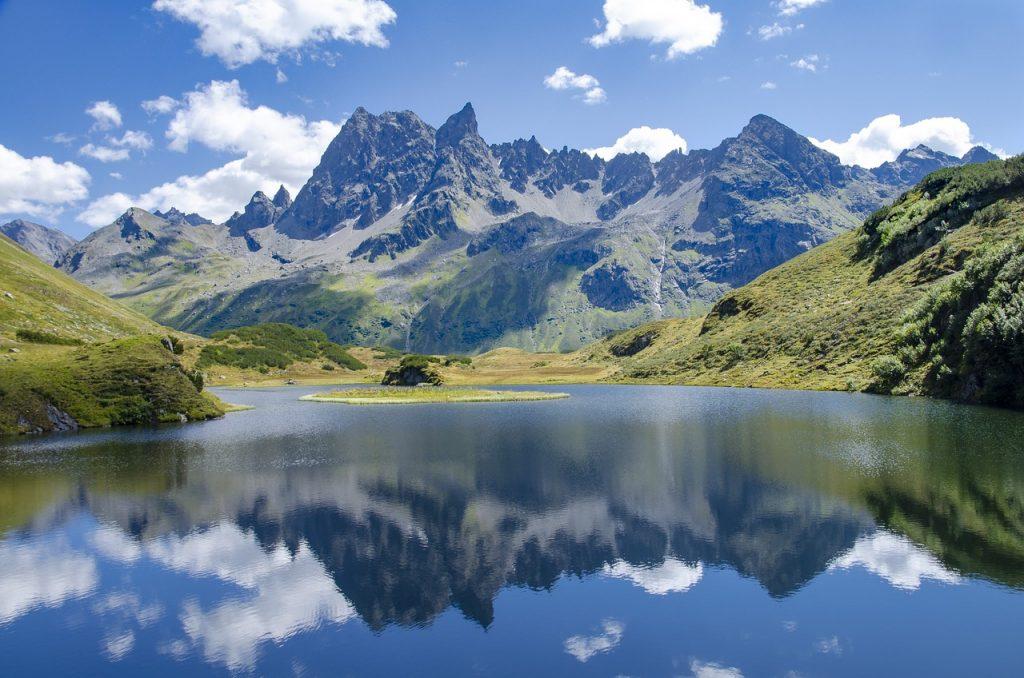 Vorarlberg één van de Bundeslanden van Oostenrijk