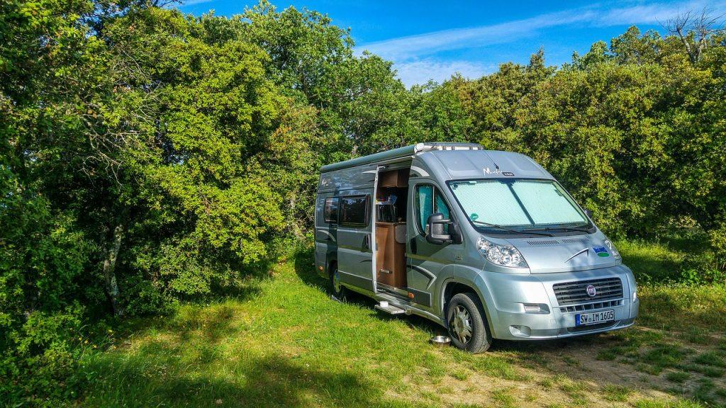 Kamperen met een camper in Oostenrijk