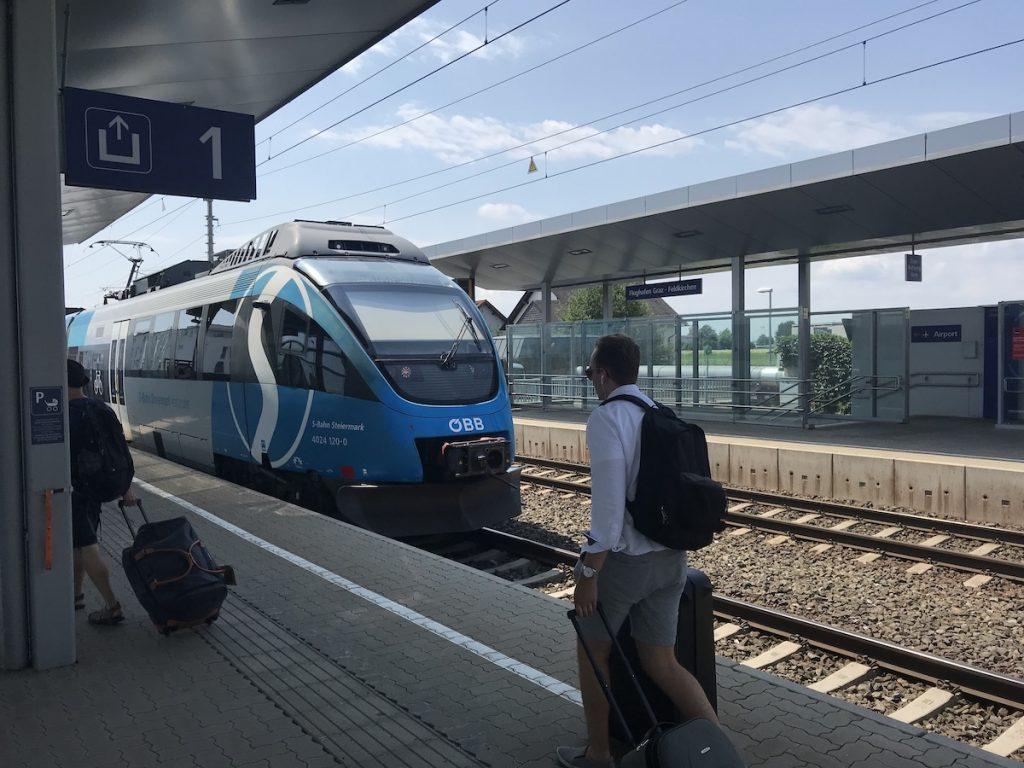 openbaar vervoer in Oostenrijk