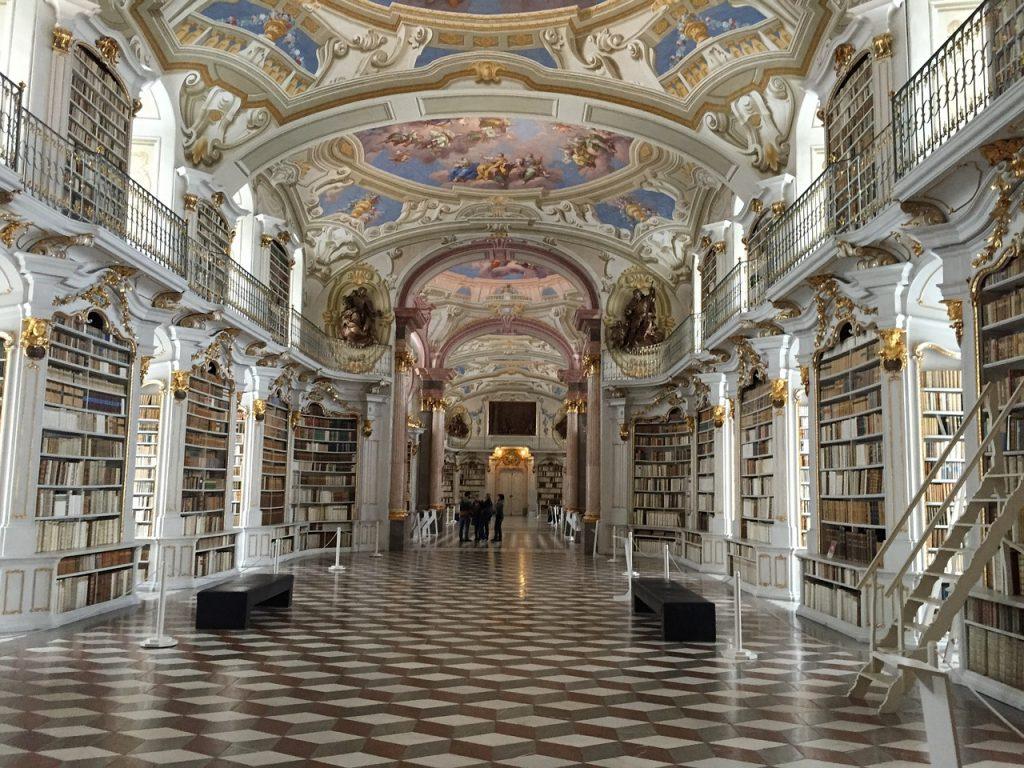 Admont klooster bibliotheek