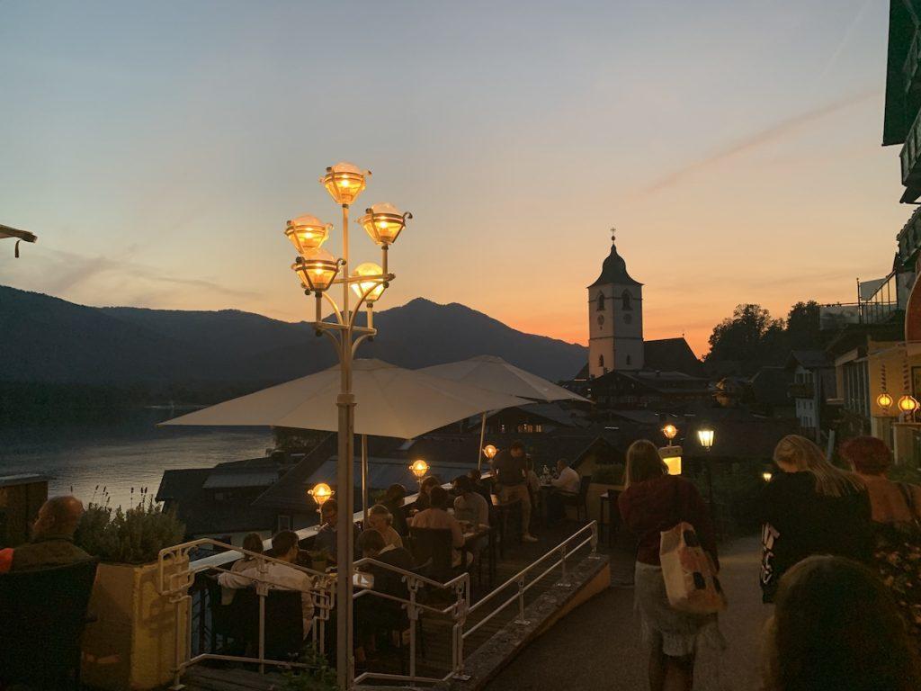 St wolfgang in Salzkammergut - mooiste dorpen van van Oostenrijk