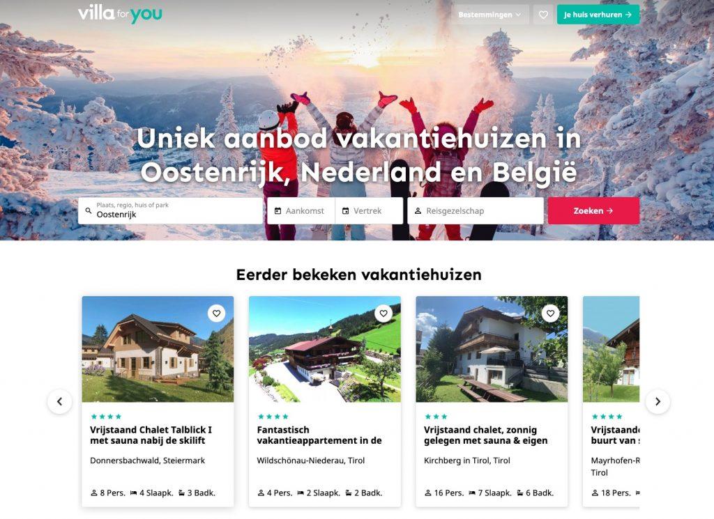 Villa for You Website