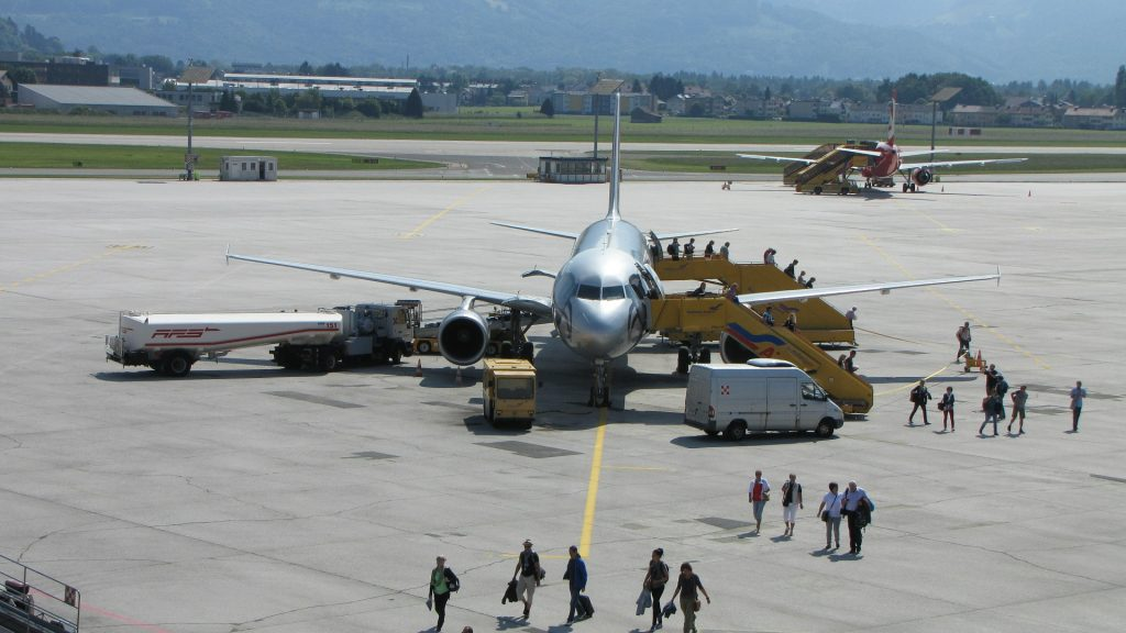 Vliegveld Salzburg