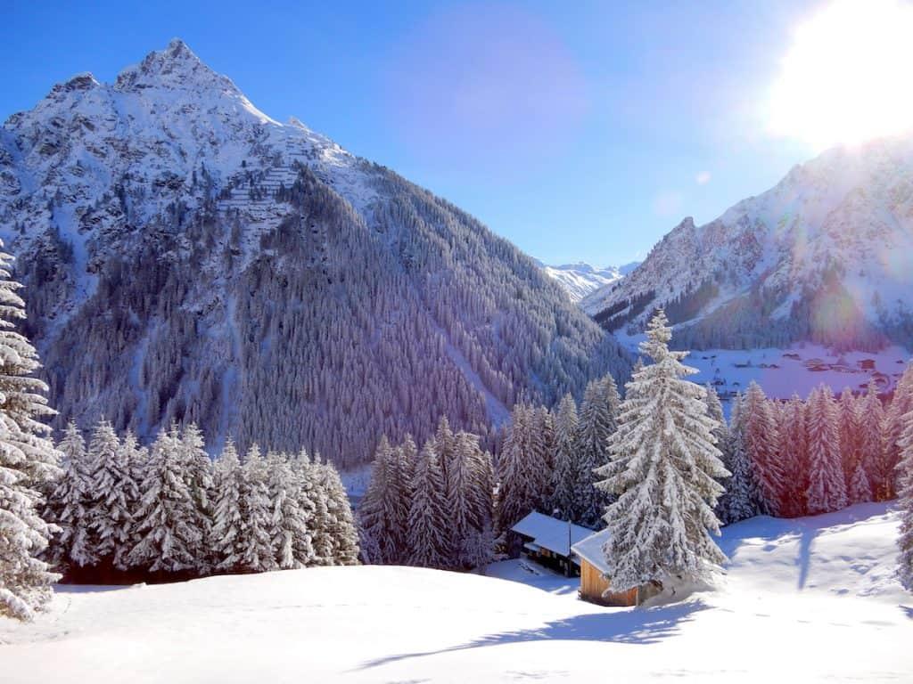 Landal Hochmontafon in de winter