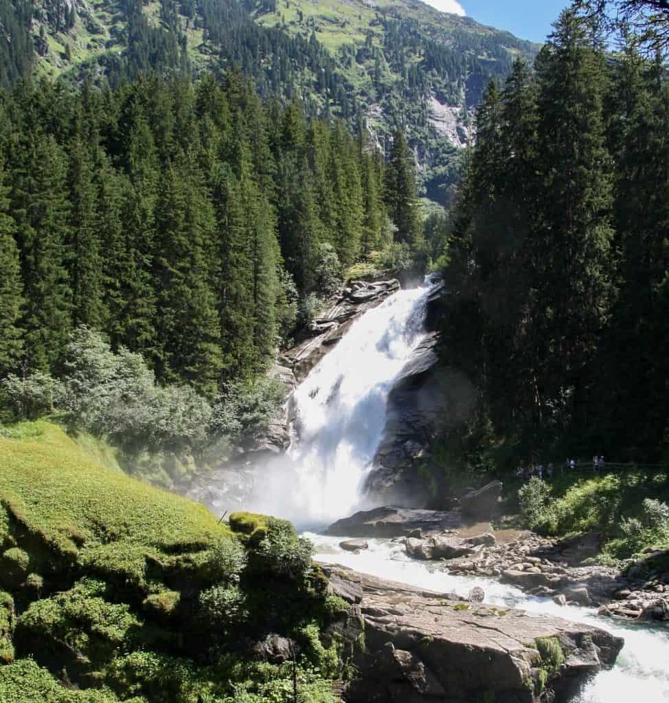 Krimmler watervallen in het Salzburgerland