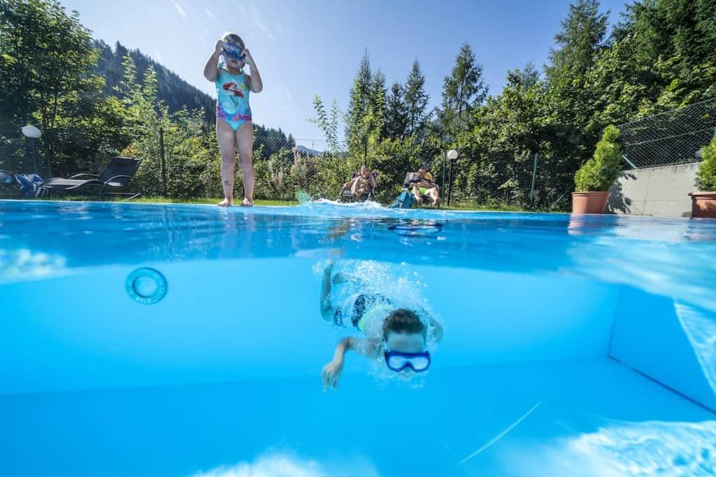 Zwembad Landal Rehrenberg in de zomer