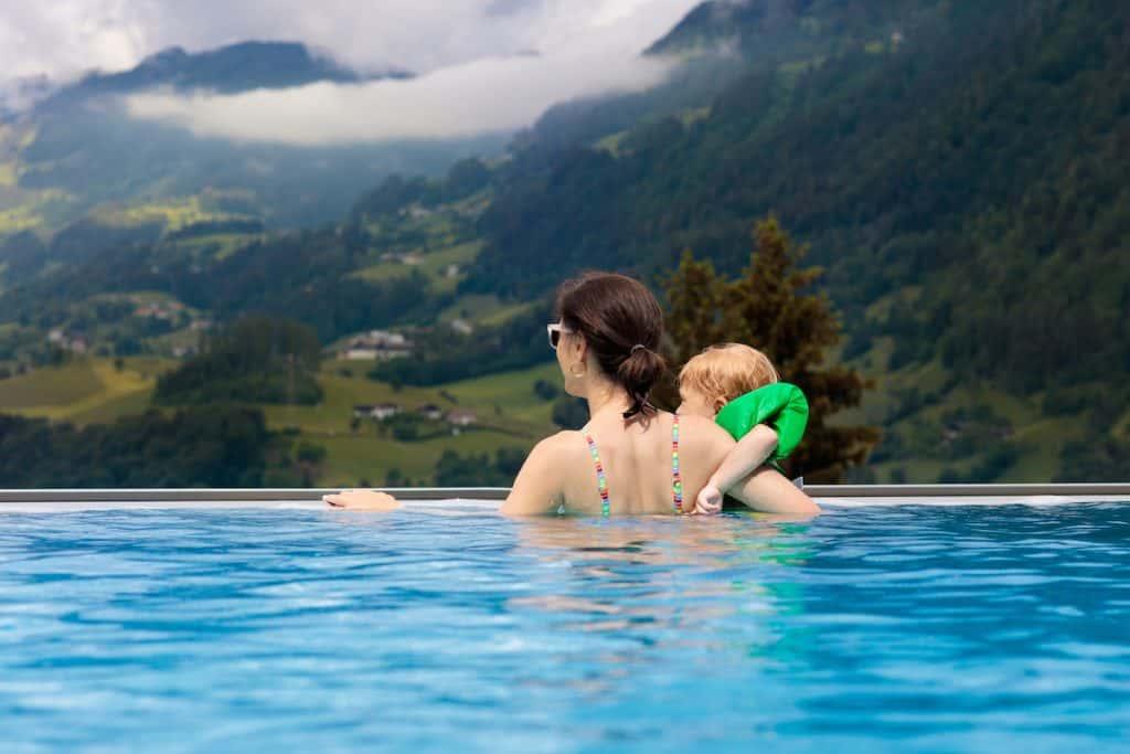 Zwemmen in Oostenrijk