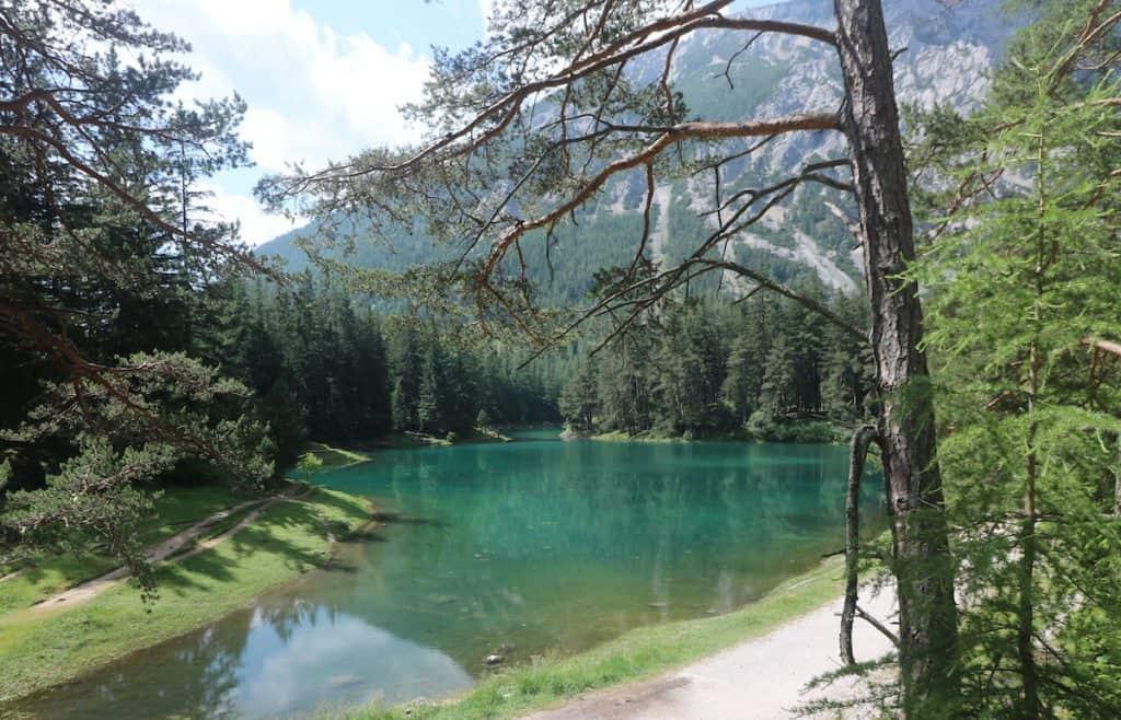 De Grüner See in de Steiermark