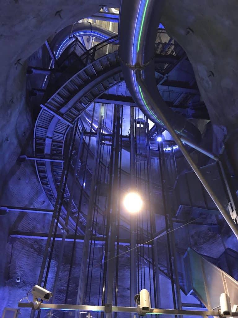 Schlossbergrutsche en de lift