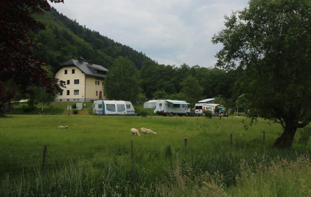 camper naar oostenrijk
