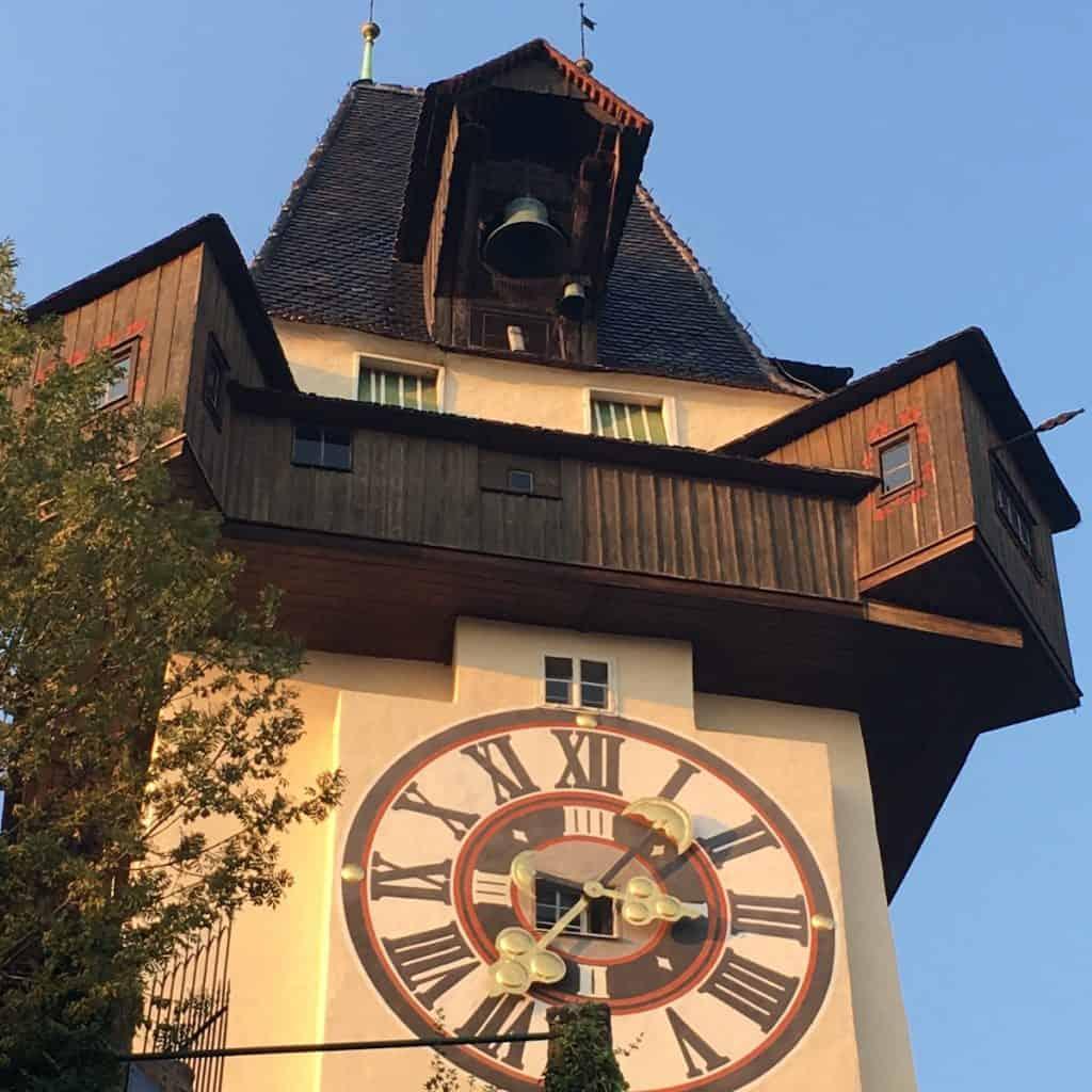 Uhrturm - met kinderen naar Graz