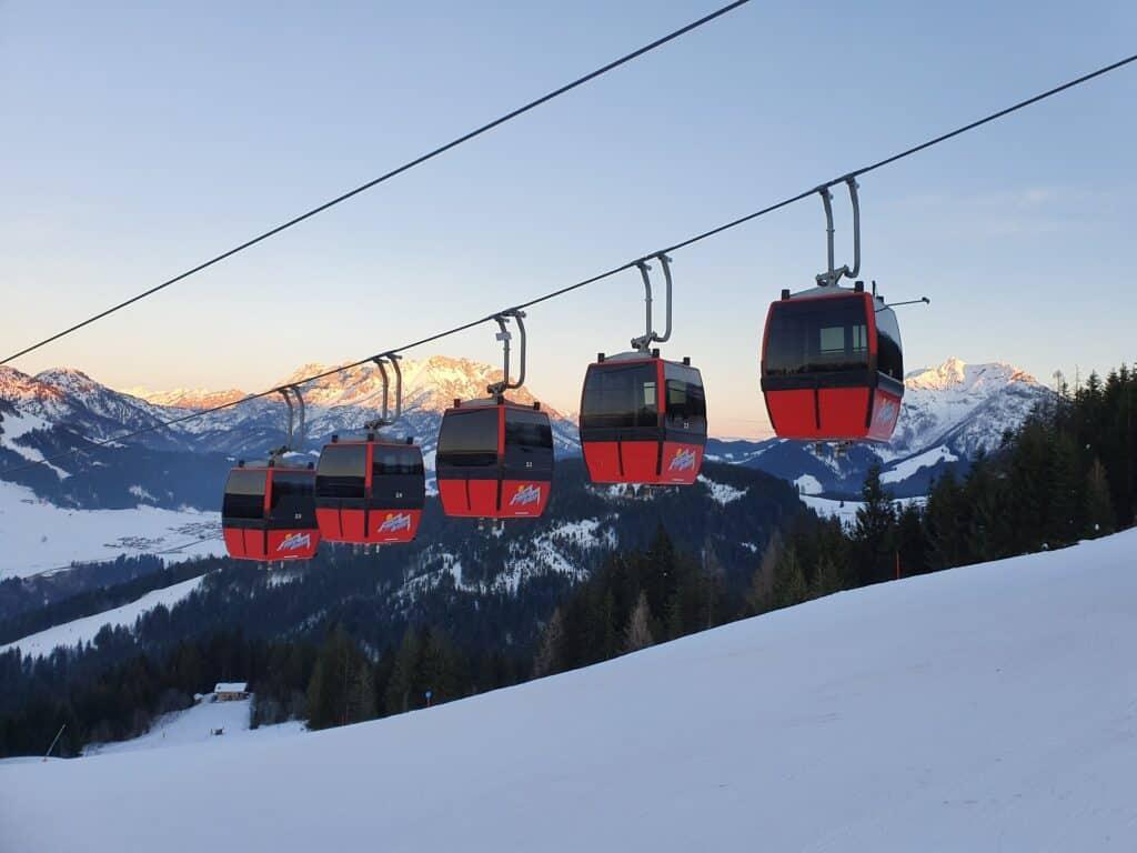 Top 10 skigebieden in Oostenrijk Saalbach