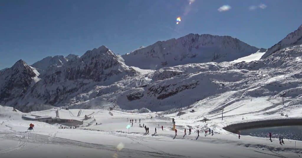 skigebieden voor de herfstvakantie Stubai gletsjer